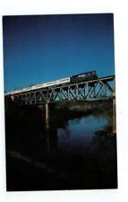Vintage Railroad Train Post Card Norfolk Southern Triple Crown Roadrailer
