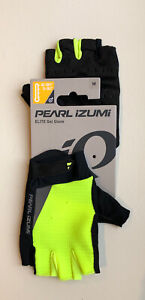 Pearl Izumi Elite Gel Mens Medium Cycling Gloves Screaming Yellow 14142002