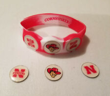 Wrist Skins Golf Ball Marker Bracelet, Nebraska Corn Huskers,Magnetic Size L,M,S