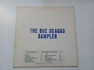 Rare Promo LP The Boz Scraggs Sampler 10 Tracks