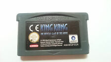 KING KONG OFFICIAL GAME NINTENDO GAME BOY GAME BOY ADVANCE, SP. PAL EUR.ESPAÑA