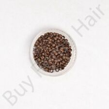 Hair Extension Nano Tip Rings 100% Copper Beads Rings / Fusion