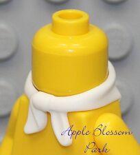 NEW Lego Girl/Boy Minifig WHITE SCARF - Cowboy Bandit Minifigure Neck Bandana