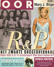 MAGAZINE OOR 1997 nr. 07 - ROWWEN HEZE / EELS / DEPECHE MODE / MARY J. BLIGE