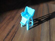 Old Vintage Superior Mini Dollhouse Furniture Kitchen High Chair Kid Baby Toy