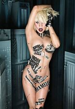 Famous Pop Star Lady GaGa    Sexy  Print   Poster