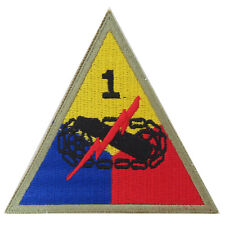 1st Armored Division Old Ironsides - WW2 Repro US Patch Badge Uniform Insignia