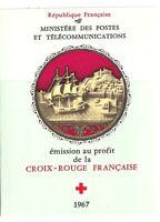 Carnet croix rouge 1967