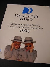 OLSEN TWINS clever 1996 VIDEO Promo Poster Ad MINT