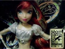 SDCC 2012 Exclusive Winx Club SILVER Believix Bloom Fairy Doll SOLD OUT #127/510