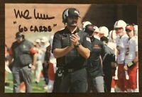 MIKE NEU NCAA Ball State Cardinals Auto Autographed Signed 4x6 Photo