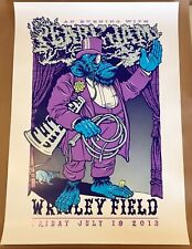 Pearl Jam Chicago Wrigley Field 2013 2XL Ames Bros Poster x/100 Artist Signed