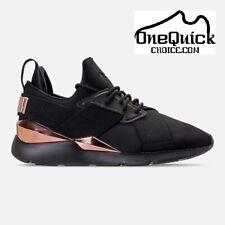 Women's Puma Muse Metallic Casual Shoes 8 US Fast Free Shipping