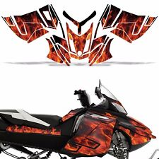 Rev XR Decal Graphic Kit Ski Doo Skidoo Sled Snowmobile Wrap Summit 13+ ICE ORNG