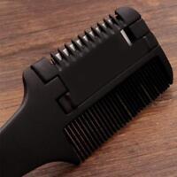 Haar-Rasierkamm-Griff-Rasierschnitt-Verdünnungs-Kamm-Werkzeug mit-Klinge best