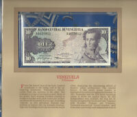 Most Treasured Banknotes Venezuela 1980 10 Bolivares P 57a UNC Birthday A4619932