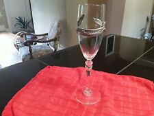 Bridesmaid Wine / Champagne Glass With Pewter. Wedding Gift.