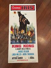 LOCANDINA,S/7 King Kong Il gigante della foresta, Ishiro Honda, Takarada sci fi