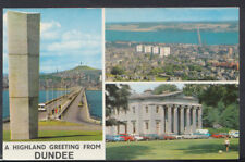 Scotland Postcard - A Highland Greeting From Dundee     T1913