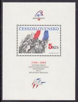 Tschechoslowakei 1989  Block 93 postfrisch