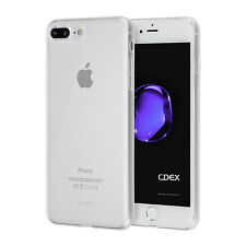 "Ultra SLIM funda TPU iPhone 8 7 plus 5.5"" funda protección cubierta clear transparente"