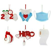 Quarantine  Personalized Survived Family Ornament 2020 Christmas Ho