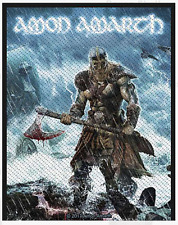 AMON AMARTH - VIKING - WOVEN PATCH - BRAND NEW - MUSIC BAND 2890