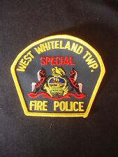 West Whiteland TWP. Fire Police Special Sewing Patch