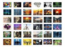 """Panel de separación Enmarcado moderno 3 Cuadro lienzo Impresión Casa Pared Decoración Arte 3x 10x20"""""""