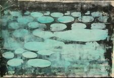 Emil Bisttram  Green lilly pads
