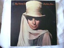 Barbra Streisand - My Name Is Barbra, Two... LP Vinyl Album CL2409 (1)