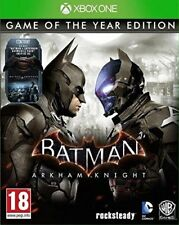 BATMAN ARKHAM KNIGHT EDITION GAME OF THE YEAR JEU XBOX ONE NEUF