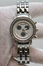 FREEZE DIAMOND WATCH ON STAINLESS STEEL BAND
