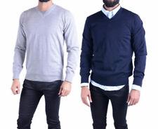 EMPORIO ARMANI 8N1M41 Mens Cardigan Long Sleeve V Neck Knitwear Pullover Jumper