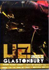 U2 Live Glastonbury 2011 DVD 18 Tracks alle Regionen versiegelt!!!