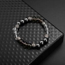colore mescolando 8cm eccellente gioielli nero opaco agata energia pietra brac