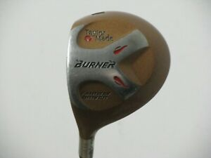 LH Taylormade Burner Bubble Fairway Driver 3 Wood Tour Stiff Graphite Very Nice!