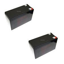 2x 12V 9,5Ah Akku Notstrom Camping APC USV Batterie Bleigel Accu 9Ah 8Ah 7,2Ah