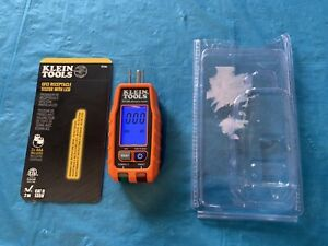 Klein Tools RT250 GFCI  Receptacle Tester with LCD Display New