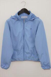 Women Tommy Hilfiger Sport Jacket Hiking Breathable Blue M 38 VAX103