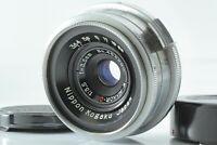 【EXC++++】 Nikon W Nikkor C 35mm F3.5 S mount Lens For Rangefinder from JAPAN