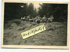 Foto : 3 schwere Zivil Krad-Motorrad Gespanne um 1935