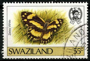 Swaziland 1987 SG#524, 55c Butterfly Definitive Used #D40279