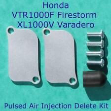 Honda VTR 1000 Firestorm XL1000V Varadero PAIR Eliminator Delete Kit block Plate
