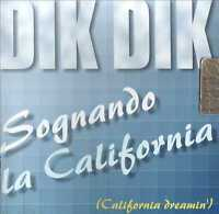 SOGNANDO LA CALIFORNIA  CD POP-ROCK ITALIANA