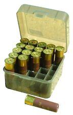 NEW! MTM 25 Round Shotshell Box (Clear Smoke) S25-12M-41
