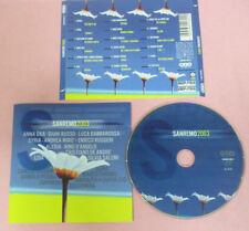CD Compilation Sanremo 2003 SYRIA ALEXIA CRISTIANO DE ANDRE D'ANGELO no lp(C42)