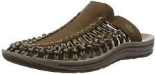 KEEN Men's Uneek Slide Sandal, Dark Earth//Brindle, 11 M US