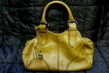 Hidesign Tan Leather Tote Bag/Grab Bag *Item being sold for Charity*