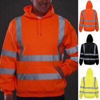 1xReflective Motorbike Motorcycle Jacket &Trousers Rain Suit Raincoat Overalls